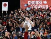 رئيس الوزراء الكندى يواصل حملته فى كالجارى استعدادا لانتخابات البرلمان