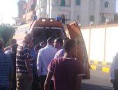 إصابة طالبتين بكسور بعد أن صدمتهما سيارة ملاكى مسرعة بالغردقة