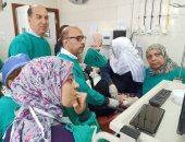 افتتاح وحدة مناظير وعيادة جهاز هضمى وكبد بمستشفى أسيوط العام