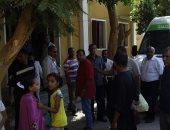 صور.. فحص 1100 مواطن فى قافلة طبية بوحدة الشروق بالمدمود بالأقصر