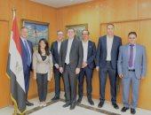 وزيرة السياحة تلتقى مسئولى إحدى الشركات العالمية لمناقشة زيادة الحركة السياحية الوافدة لمصر