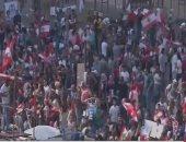 بث مباشر..استمرار المظاهرات لليوم الخامس على التوالى فى لبنان