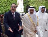 رئيس الوزراء الكويتى يصل مقر مجلس الوزراء وبدء جلسة المباحثات الثنائية