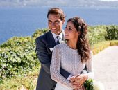 أول صورة واضحة لفستان زفاف عروس العالمي رافاييل نادال .. أنيق ورقيق