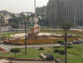 فيديو.. انطلاق عمليات تطوير ميدان التحرير لنقل مسلة أثرية للميدان