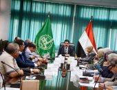 صور.. محافظ القليوبية يستقبل وفد مجلس الوزراء لمتابعة المشروعات القومية
