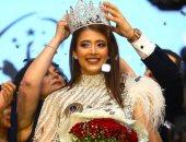 تتويج ديانا حامد بلقب ملكة جمال مصر للكون 2019