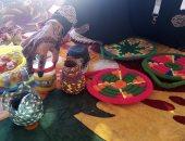 """""""آثار أبوسمبل"""" تنظم معرضا للحرف التراثية على هامش مهرجان تعامد الشمس.. صور"""