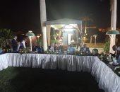 الرى تقيم حفل عشاء لضيوف أسبوع القاهرة للمياه تحت سفح الهرم