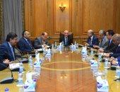 """""""العصار"""" يستقبل رئيس شركة جنوب سيناء للمياه لبحث مشروعات للتعاون المشترك"""