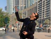 """أحمد حلمى يقع فى موقف محرج بسبب """"البيانو"""" .. فيديو على تيك توك"""