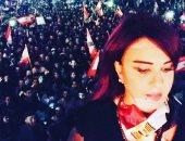 فيديو.. مادلين طبر من قلب لبنان تحذر من المندسين بالمظاهرات