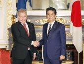 صور.. آبى يعقد محادثات مع زعماء العالم على هامش حفل تنصيب إمبراطور اليابان
