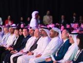 الشيخ خالد بن محمد بن زايد يزور مقر انعقاد مهرجان أبوظبى للتكنولوجيا المالية