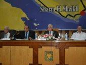 محافظ جنوب سيناء يستعرض موقف التصالح على مخالفات البناء