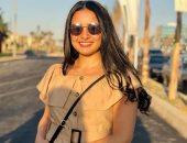 برة الملعب.. لينا عرابى نجمة السلاح: نفسى أكون مذيعة.. وبحب الغناء