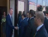 شاهد.. لحظة وصول السيسي إلى سوتشى لرئاسة القمة الأفريقية - الروسية