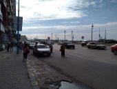 الطقس فى الاسكندرية الان .. توقف الأمطار و الغيوم تغطى سمائها