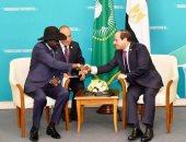 السيسي يلتقى سلفا كير فى سوتشى.. ويؤكد مساندة مصر لحكومة وشعب جنوب السودان