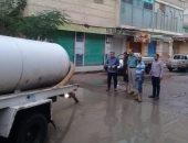 الطقس فى الاسكندرية الآن .. السيطرة على بؤر تجمعات مياه الأمطار غربا