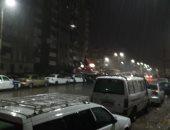 سقوط أمطار رعدية على مدينتى بورسعيد وبورفؤاد.. صور