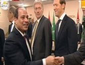 الرئيس السيسى يؤكد على أهمية التعاون العسكرى بين مصر وروسيا