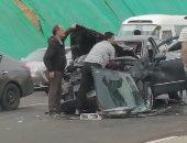 إصابة 5 أشخاص في حادثين منفصلين بالداخلة والفرافرة