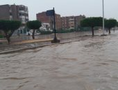 التنمية المحلية: 650 ألف متر مكعب مياه أمطار سقطت على مدينة نصر والنزهة أمس