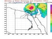 فيديو.. مركز التنبؤ بالفيضان يكشف أماكن سقوط المطر خلال الـ72 ساعة المقبلة