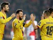 ليفانتى ضد برشلونة.. ميسي وسواريز يتصدران قائمة البارسا وغياب ديمبلى