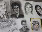 صور.. أسيوط تعلن الفائزين بمسابقة الرسم الحر بالرصاص والفحم للمتخصصين والهواة