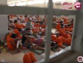 عصيان فى أكبر سجون معتقلى تنظيم داعش فى الحسكة وأنباء عن فرار عدد منهم