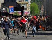 تجدد المظاهرات فى تشيلى احتجاجا على خطة الرئيس سيباستيان بينيرا الاصلاحية