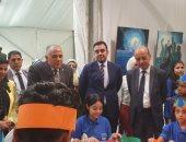 """وزير الرى يفتتح ملتقى """"سفراء المياه"""" للأطفال على هامش أسبوع القاهرة للمياه"""