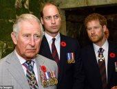 الأمير تشارلز يعبر عن غضبه من تفاقم الخلافات بين أبنائه..وماركل تؤكد الخلاف