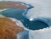 """""""حرائق تحت الجليد"""" فى القطب الشمالى.. اعرف التفاصيل"""