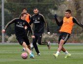 مودريتش يعود إلى تدريبات ريال مدريد استعداداً لمباراة ليجانيس بالليجا