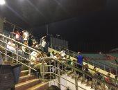 صور.. جمهور الزمالك يتواجد في مدرجات السلام لمساندة الفريق أمام جينيراسيون