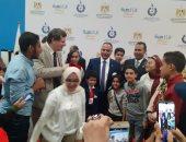 صور.. جامعة الطفل بجامعة الزقازيق تشارك فى معرض القاهرة السادس للابتكار