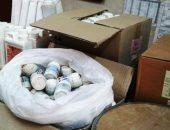 ضبط مصنع أدوية بيطرية مغشوشة فى العاشر من رمضان