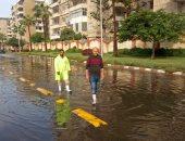صور.. الصرف الصحى يكثف أعمال كسح المياه بشرق و غرب الإسكندرية