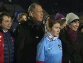 وزير الخارجية الروسى يزور النرويج لتنفيذ ركلة بداية فى مباراة