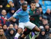 سترلينج يسجل أول أهداف مانشستر سيتي ضد استون فيلا.. فيديو