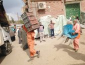 إزالة 592 حالة إشغال وتحرير 13 محضرا بحملة مكبرة بشوارع إهناسيا غرب بنى سويف