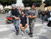 """الجيش اللبنانى يعيد فتح بعض الطرق فى """"سبت الساحات"""" بالعاصمة بيروت"""
