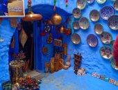 """رحلة للمدينة الزرقاء.. """"شفشاون"""" عمرها أكتر من 500 سنة ولون السما مسيطر عليها"""