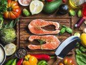 النظام الغذائى المعتمد على الخضراوات والأسماك مفيد لصحتك ويحميك من الالتهابات