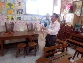 فحص طلاب 30 مدرسة بمركز أهناسيا ضمن مبادرة نور حياه