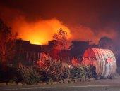 الرياح تؤجج حرائق ولاية كاليفورنيا وإجلاء 180 ألف شخص بسبب اتساع رقعة النيران
