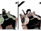 كاريكاتير الصحف السعودية.. المليشيات الإرهابية تحتل مكان البغدادي بعد تصفيته